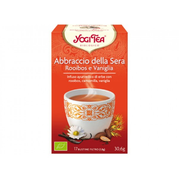 Yogi Tea Abbraccio della sera - Rooibos e vaniglia 30,6g YOGI TEA