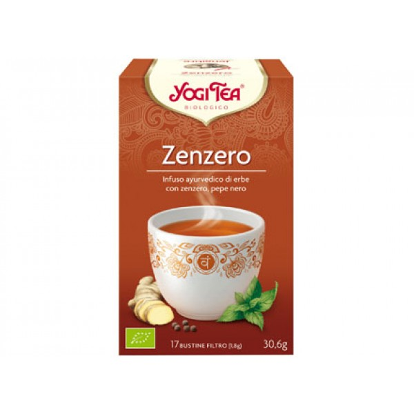 Yogi Tea Zenzero 30,6g YOGI TEA