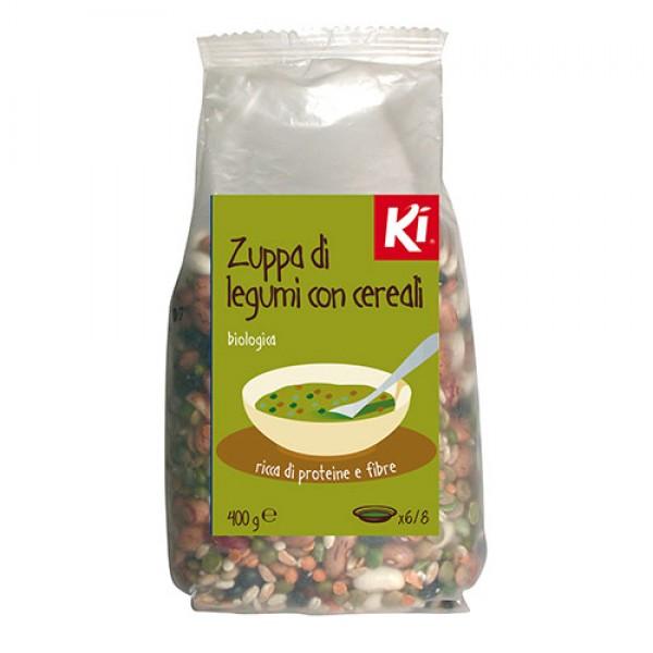 Zuppa di legumi con cereali 400g KI