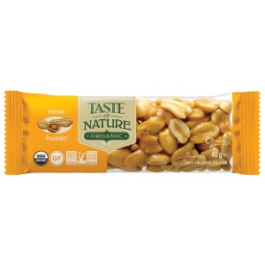 Barretta alle arachidi 40g Taste of Nature