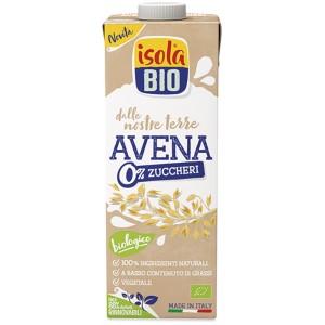 Bevanda di Avena 0% Zuccheri 1lt Isola Bio