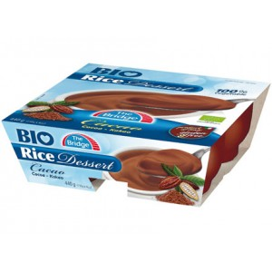 Bio Rice Dessert cacao 4x110g THE BRIDGE