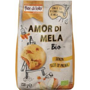 Biscotto Amor di Mela 250gr Fior di Loto