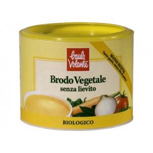 Brodo vegetale in polvere senza lievito 210g BAULE VOLANTE