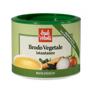 Brodo vegetale in polvere senza olio di palma 200g BAULE VOLANTE