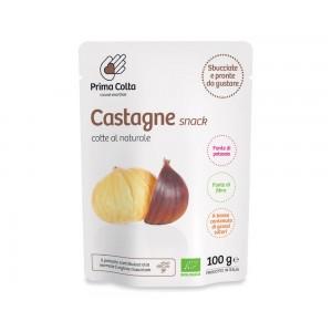 Castagne snack al naturale 100g Prima Colta