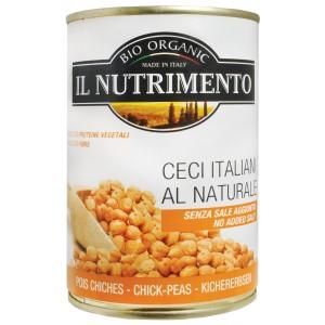 Ceci italiani al naturale 400g IL NUTRIMENTO