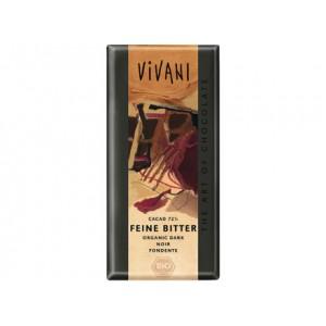 Cioccolato fondente 71% 100g VIVANI