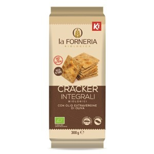 Cracker integrali con lievito madre 300g La Forneria