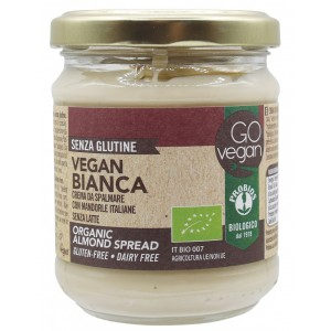 Crema Spalmabile Bianca Vegan alla Mandorla 200g Probios
