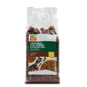 Crunchy con Avena e Cacao 375gr La Finestra Sul Cielo
