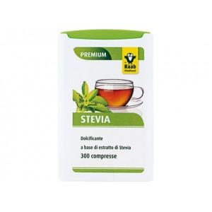 Dolcificante a base di estratto di Stevia in compresse 300comp. RAAB