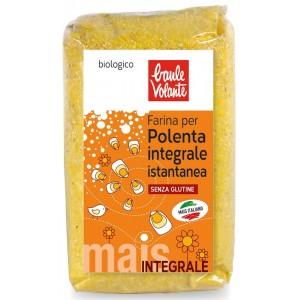 Farina per polenta integrale istantanea 500g BAULE VOLANTE