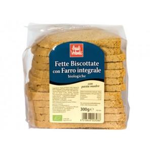 Fette Biscottate con Farro integrale 300g BAULE VOLANTE
