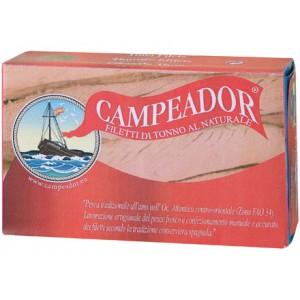 Filetti di tonno al naturale 120g CAMPEADOR