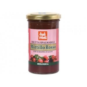Frutta Spalmabile mirtillo rosso 280g BAULE VOLANTE