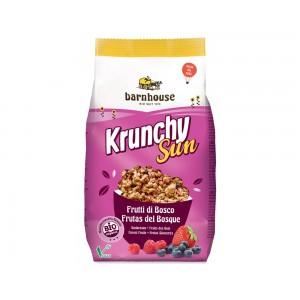 Granola ai frutti di bosco senza zucchero Krunchy Sun 375g BARNHOUSE