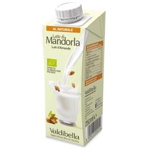 Latte di Mandorle Siciliane Natural 250ml Valdibella