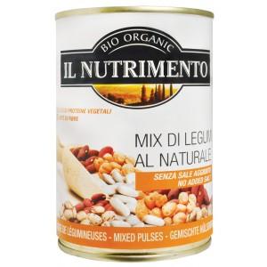 Mix 4 legumi al naturale 400g IL NUTRIMENTO