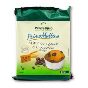 Muffin con Gocce di Cioccolato 180gr Verde&Bio