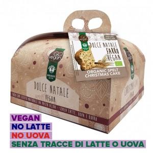 Panettone Vegano di Farro senza Latte e Uova 500g Probios