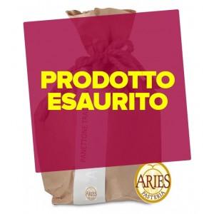 Panettone artigianale senza canditi con lievito di pasta madre 750g Aries Pasteria