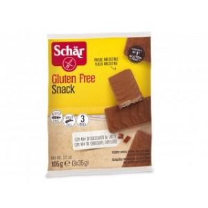 Snack Wafer al Cioccolato senza glutine 3x35g SCHAR
