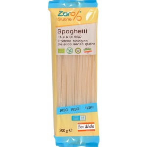 Spaghetti di Riso Zer% Glutine Fior di Loto