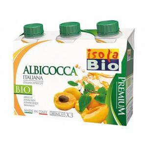 Succo e polpa Premium di albicocca 3x200ml ISOLABIO