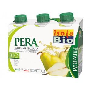 Succo e polpa Premium di pera 3x200ml ISOLABIO