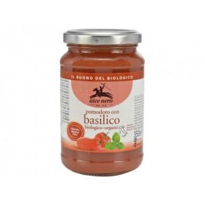 Sugo di pomodoro con basilico 350g ALCE NERO