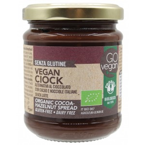 Vegan ciok – crema spalmabile di cacao e nocciole 200g GO VEGAN