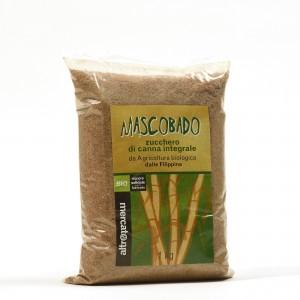 Zucchero di canna integrale Mascobado 1kg Altromercato