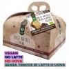Panettone Vegano di Frumento con gocce di Cioccolato senza latte e uova 500g Probios