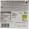 Uovo di pasqua Vegan Bianco con bevanda di soia retro etichetta