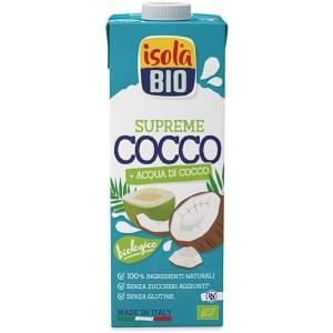Bevanda vegetale di Cocco Supreme 1lt Isola Bio