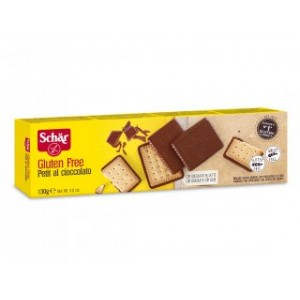 Biscotti Petit al cioccolato senza glutine 130g SCHAR