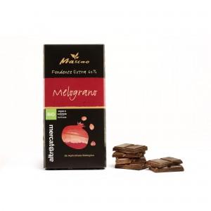 Cioccolato fondente extra 60% con melograno Mascao 80g Altromercato