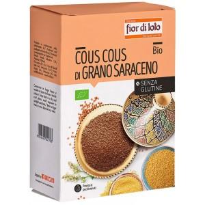 Cous Cous di Grano Saraceno Senza Glutine 500gr Fior di Loto