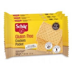 Crackers Pocket senza glutine 3x50g SCHAR