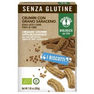 Crumiri con Grano Saraceno Senza Glutine 200gr Probios