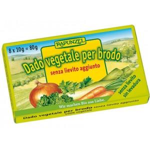Dado vegetale senza lievito aggiunto 80g RAPUNZEL