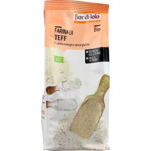 Farina di Teff senza glutine 375g Fior di Loto