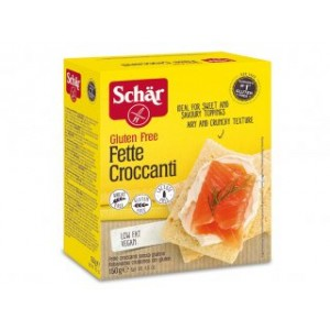 Fette Croccanti senza glutine 150g SCHAR