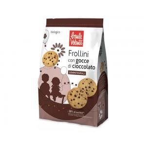 Frollino semintegrale con gocce di cioccolato vegan 300g Baule Volante