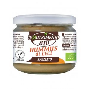 Hummus di ceci speziato 180g Il nutrimento