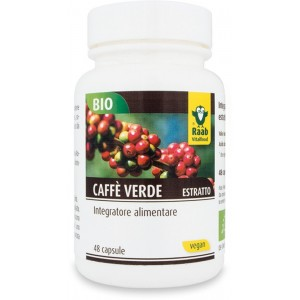 Integratore alimentare caffè verde 48 capsule 24g RAAB