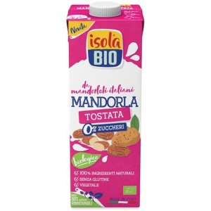 Latte di Mandorla Tostata 1lt Isola Bio