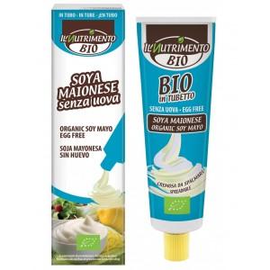 Maionese vegana di soia senza uova 150g Il Nutrimento Bio