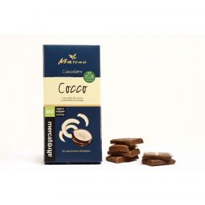 Mascao - cioccolato al latte di cocco - bio 80g ALTROMERCATO